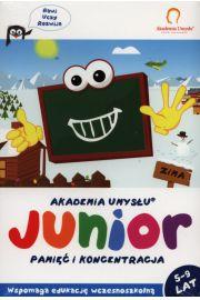 Akademia Umysłu Junior Zima 5-9 lat