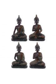 redni tajski siedz�cy Budda - efekt �niedzi