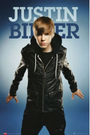 Justin Bieber jacket - plakat