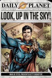 Superman Daily Planet - plakat