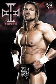WWE Wrestling Triple h - plakat