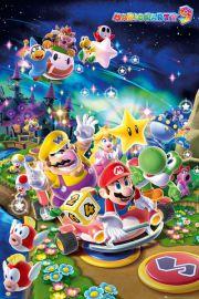 Nintendo Wii Super Mario Party - plakat