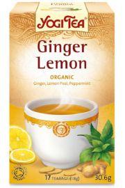 Herbata YOGI TEA Imbirowo-cytrynowa GINGER LEMON - ekspresowa