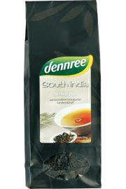 Herbata Czarna Południowe Indie Liściasta Bio 100 G - Dennree