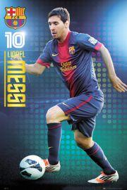 FC Barcelona - Lionel Messi - plakat