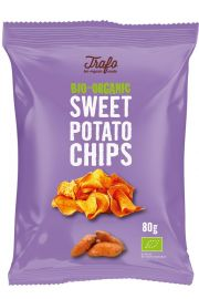 Chipsy Z Batatów Smażone Na Oleju Kokosowym Bio 80 G - Trafo