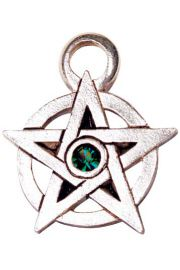 Pentagram ozdobiony klejnotami