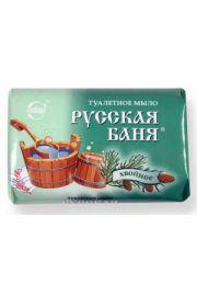 Mydło toaletowe Sosnowe Rosyjska łaźnia Krasiva OAO Svoboda