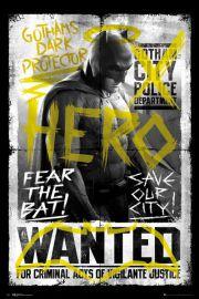 Batman v Superman Batman Wanted - plakat