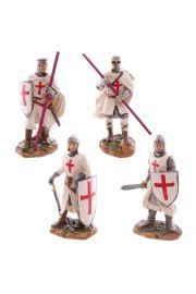Rycerz gotowy do walki Krzyżak 16cm