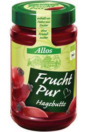 Mus Z Dzikiej Róży (75% Owoców) Bio 250 G - Allos