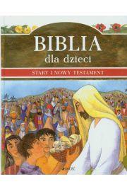 Biblia dla dzieci Stary i Nowy Testament