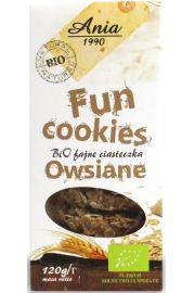 Fun Cookies Owsiane Bio 120 G - Bio Ania