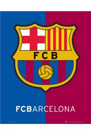 FC Barcelona Godło Klubu - plakat