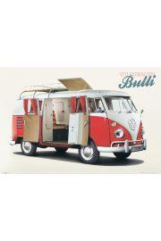 Volkswagen Camper Bulli - plakat