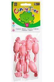 Lizaki Okrągłe O Smaku Malinowym Bezglutenowe Bio (7 X 10 G) - Candy Tree