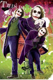 Batman Mroczny Rycerz - Joker Moje Miasto - plakat