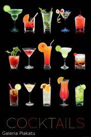 Kolorowe Drinki - plakat