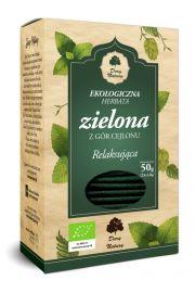 Herbata zielona relaksująca