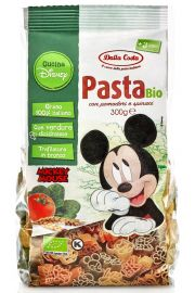 Makaron (Semolinowy Trójkolorowy) Disney Mickey Bio 300 G - Dalla Costa