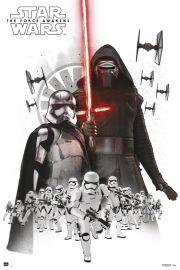 Star Wars Gwiezdne Wojny Przebudzenie Mocy Kylo Re - plakat