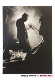 Miles Davis at Birdland - plakat