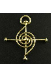 Krzyż Harmonijnego Życia, pozłacany