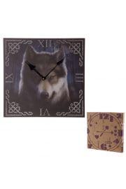 Zegar z nadrukiem Głowa Wilka