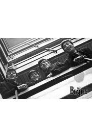 The Beatles - na Balkonie - plakat