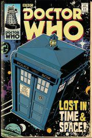 Doctor Who Tardis Komiksowa Wersja - plakat