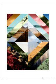 Abstract Wilderness - art print