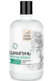 Szampon przeciwłupieżowy z sokiem brzozowym RT ROSYJSKA KOSMETYKA