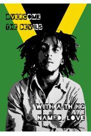 Bob Marley Jamajka - plakat
