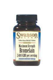 Swanson Bromelaina maksymalna moc 1200GDU 60 kaps.
