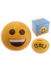 Skarbonka z emotikonem Duży Uśmiech