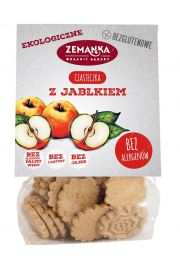 Ciasteczka Z Jabłkiem Bezglutenowe Bio 100 G - Zemanka
