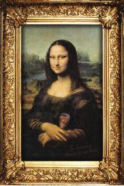 Leonardo DaVinci - Mona Lisa W Niebie nie ma Piwa - plakat