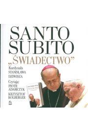 """Santo Subito """"Świadectwo"""" - Stanisław Dziwisz"""