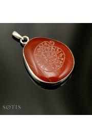 Mandala runiczna na Jaspisie nr 1