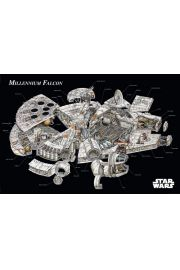 Gwiezdne Wojny Sokół Millenium Projekt - plakat