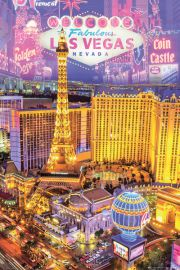 Las Vegas Stolica Hazardu - plakat