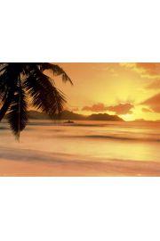 Seszele - Zachód Słońca - plakat