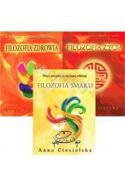 Zestaw 3 ksi��ek: Filozofia zdrowia + Filozofia �ycia + Filozofia smaku