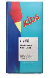 Czekolada Mleczna Dla Dzieci Bio 100 G - Vivani
