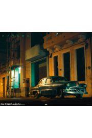 Kuba Hawana - Stare Auto - plakat