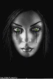 Anne Stokes - Zielone Oczy - plakat