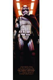 Star Wars Gwiezdne Wojny Przebudzenie Mocy Kapitan Phasma - plakat