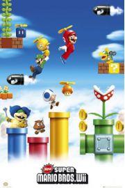 Nintendo Super Mario Bros - Luigi - plakat