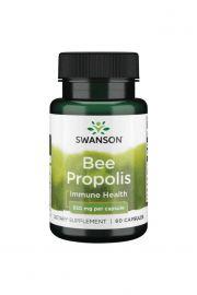 Swanson Bee Propolis 550mg 60 kaps.