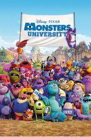 Uniwersytet Potworny - plakat